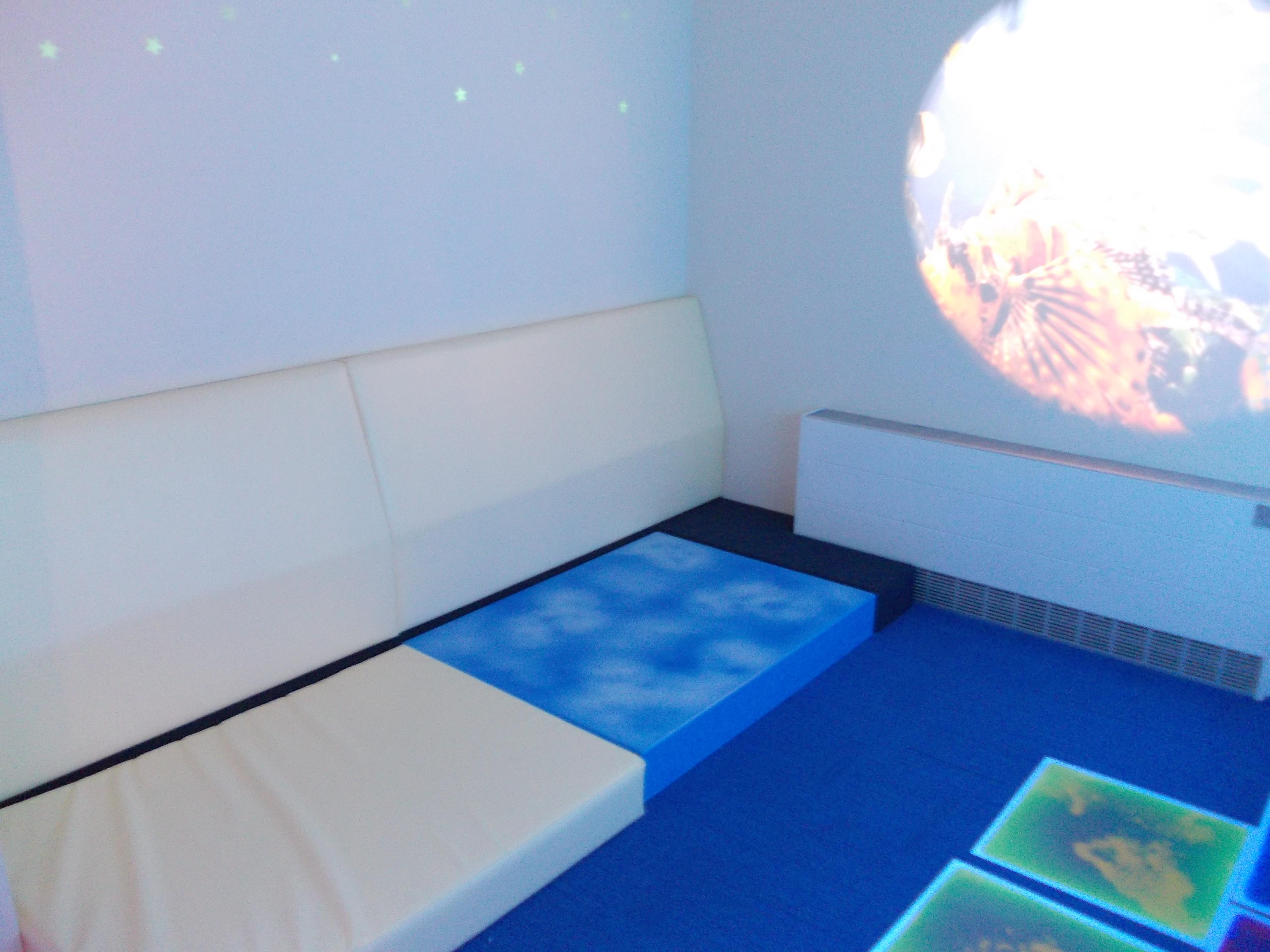 Main Sensory Room - Soft Seating & Sound Area