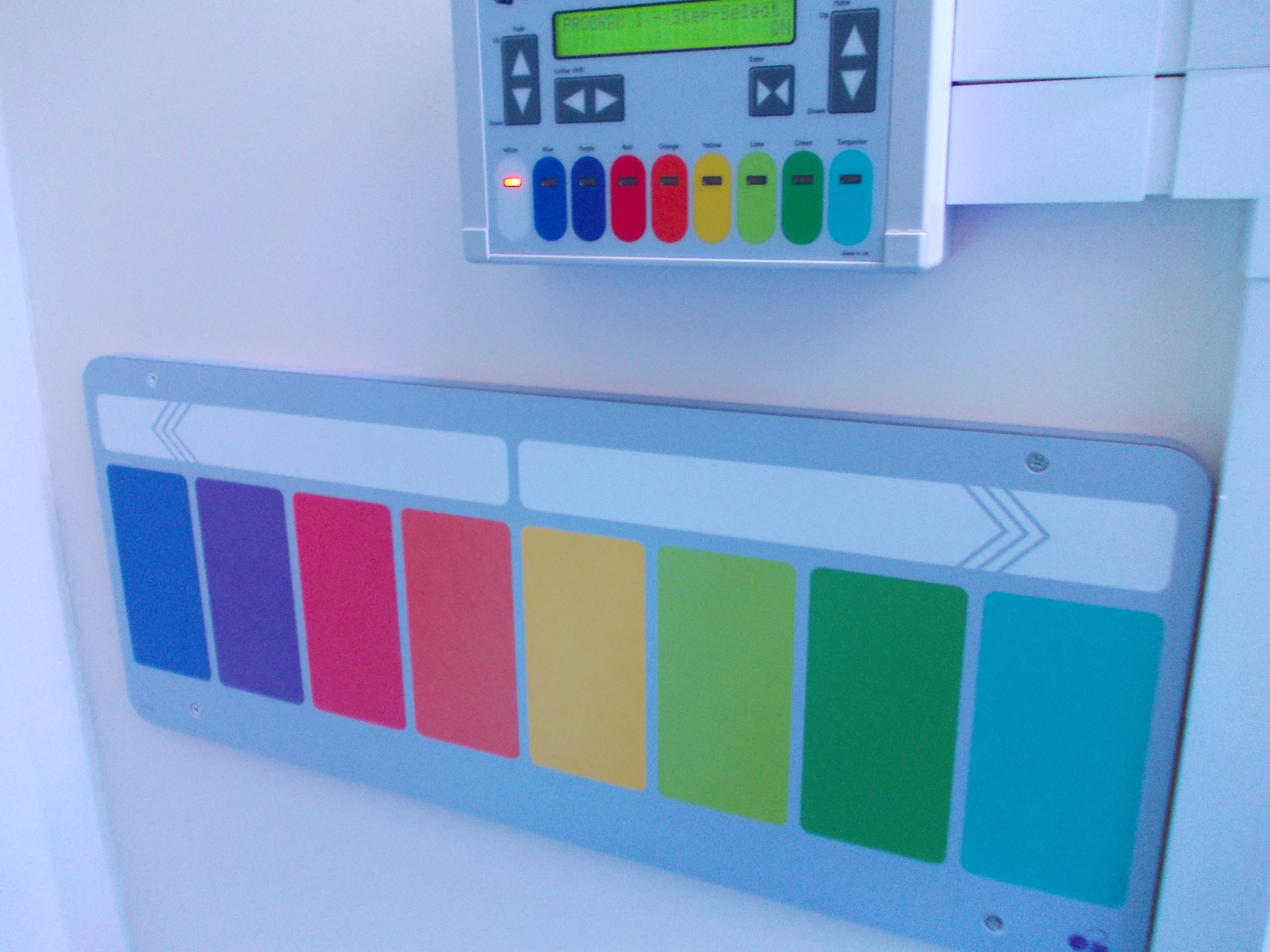 Main Sensory Room - Interactive Controls